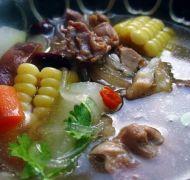 意米冬瓜老鸭煲的做法