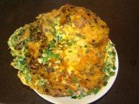 韭菜虾皮煎蛋的做法