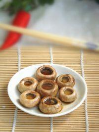 烤蘑菇的做法