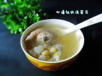 豌豆蹄花汤的做法