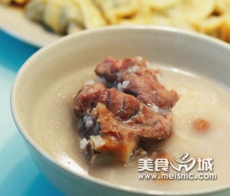 花生咸猪骨粥