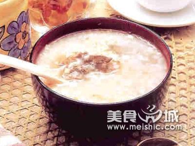 大米白鸭粥