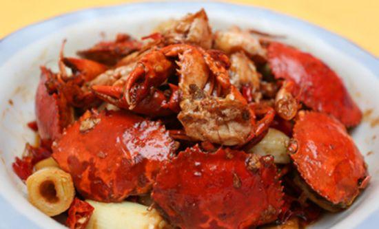 长沙名小吃口味蟹的做法