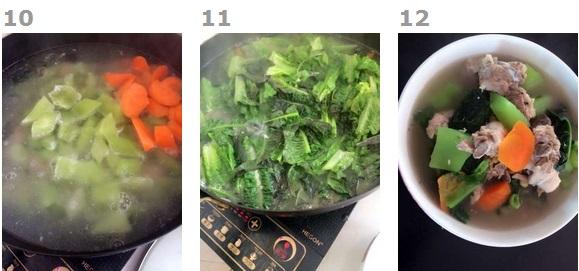 莴笋排骨汤的做法