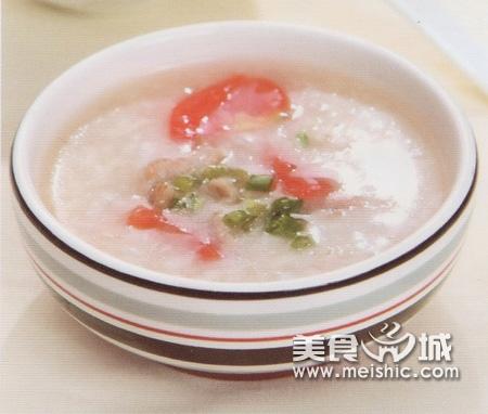 瘦肉西红柿粥
