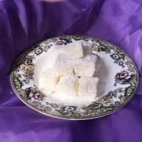 最简单的小甜品:椰丝奶油小方的做法