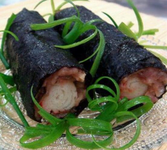 紫菜蟹柳卷怎么做好吃