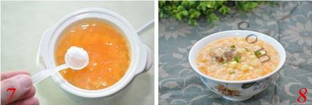 红萝卜玉米粥