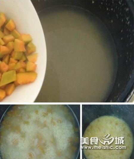 小米南瓜粥步骤3