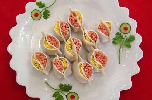 鸳鸯饺的做法
