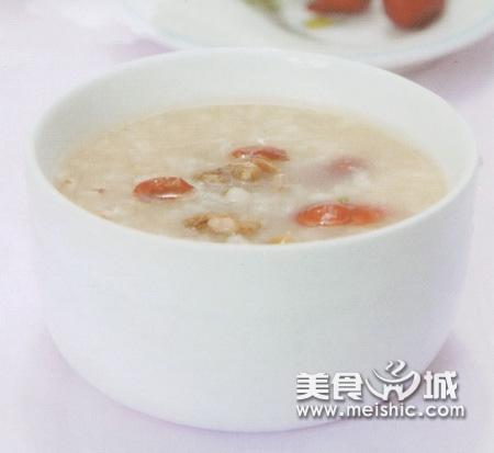 核桃首乌枣粥
