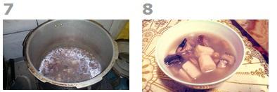香菇花生淮山排骨汤的做法