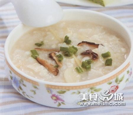 豆腐香菇粥