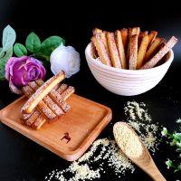 零食食谱:如何制作红糖吐司脆条