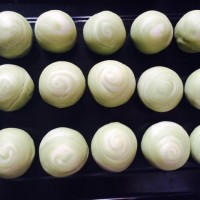 详尽版抹茶蛋黄酥的图片做法