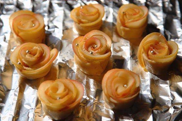苹果玫瑰花做法