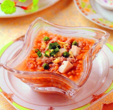 豌豆豆腐粥