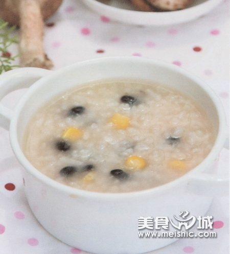 (1)黑豆玉米粥