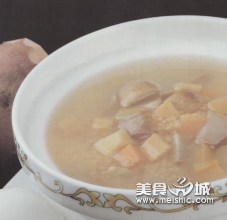 板栗玉米粥