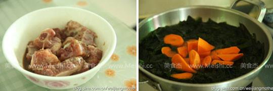 裙带菜排骨汤的做法