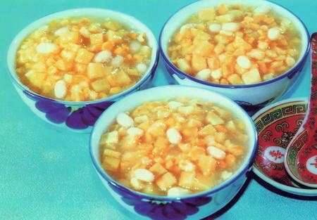 红薯渣子粥
