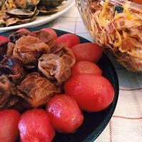 台湾小吃:酸梅番茄做法