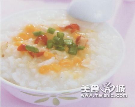 洋参红枣玉米粥