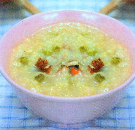 绿豆三仁粥