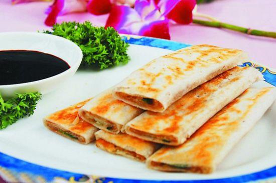 杭州小吃之葱包桧的做法