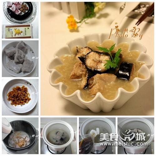 白鳝瑶柱排骨粥