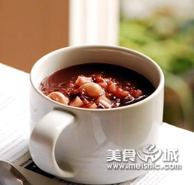 西洋参红枣粥