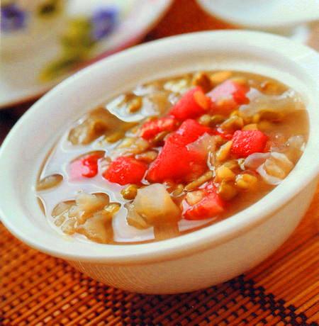 西瓜绿豆粥