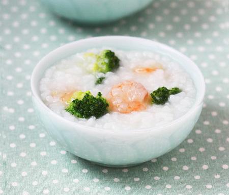 虾仁砂锅粥