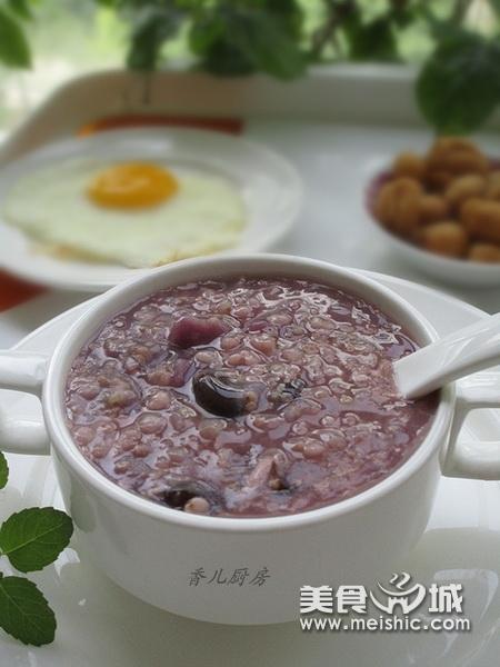 小米紫薯杂粮粥