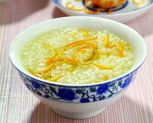 自制橘皮粥