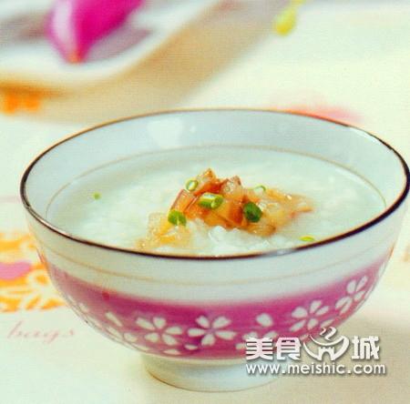 菠菜芹米粥