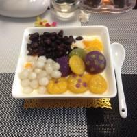 夏日午后甜品:芋圆芒果撞酸奶的做法