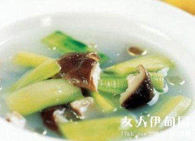 排骨丝瓜汤