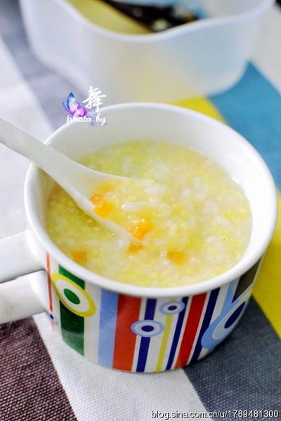 小米萝卜粥
