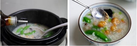 干贝海鲜粥的做法步骤7-8