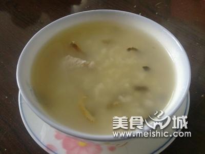 陈皮瘦肉粥