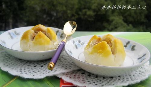 开口酥的做法,莲蓉开口酥怎么做好吃