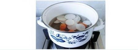 黑小米金橘粥