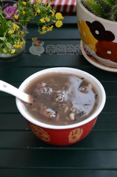 黑芝麻蜜枣粥