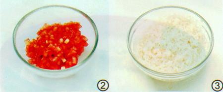 番茄肥牛粥做法步骤2-3