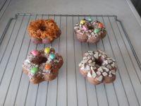 紫米花样甜甜圈怎么做好吃