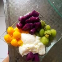 怎样在家纯手工制作紫薯芋圆