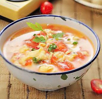 番茄鸡蛋粥