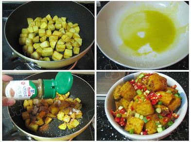 重庆小吃:锅巴土豆怎么做