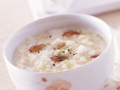 海米糙米粥